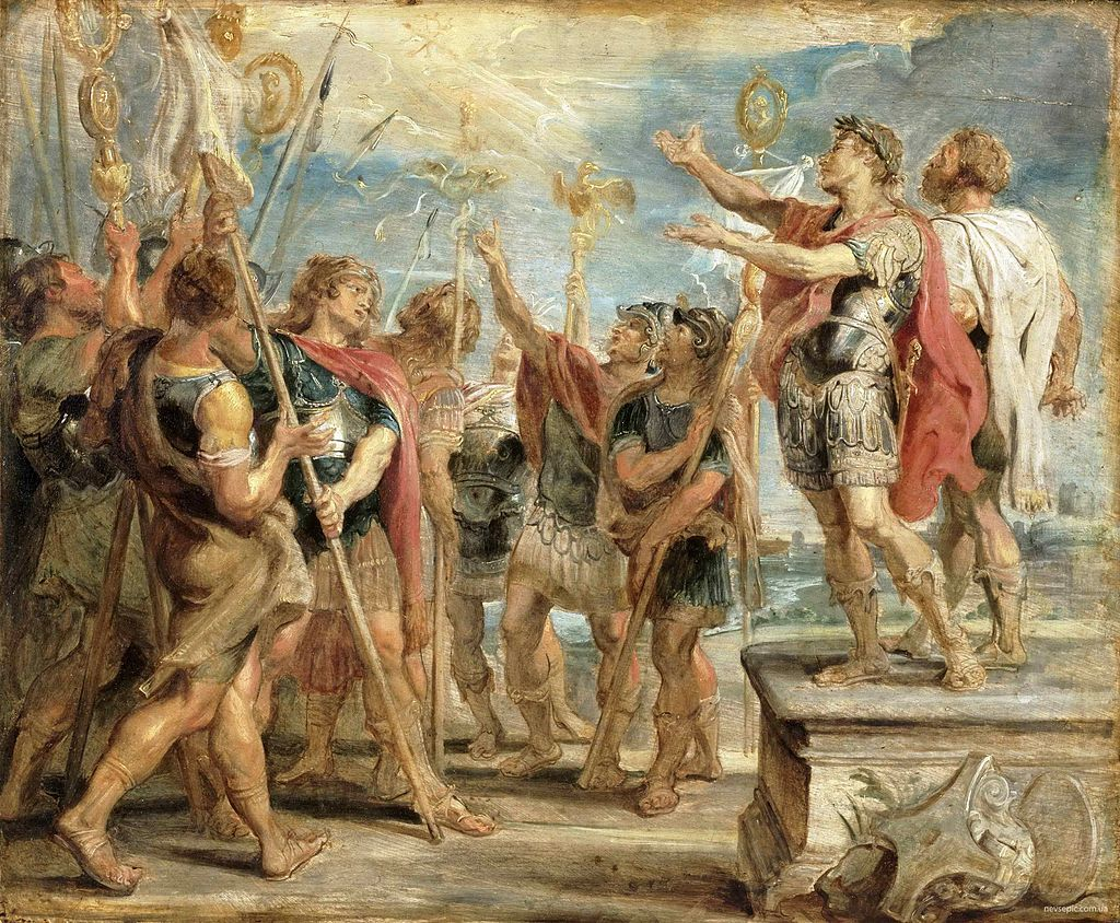 Konstantinova konverze od Rubense